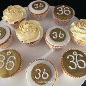 Cupcake voor 36e verjaardag