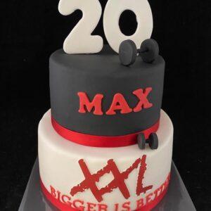 30 jaar taart