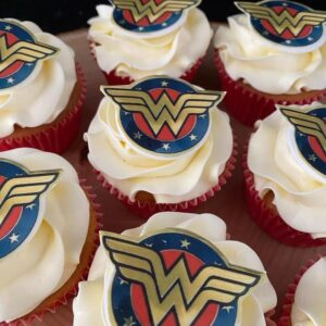 Power Woman Cupcake