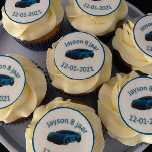 Bugatti Cupcakes