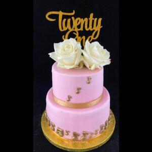 21 jaar taart