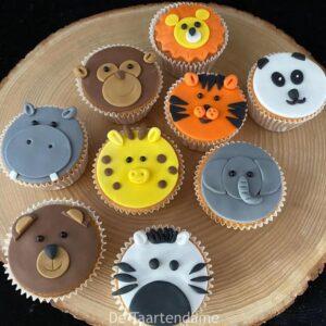 Dierencupcakes