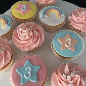 3 jaar cupcakes