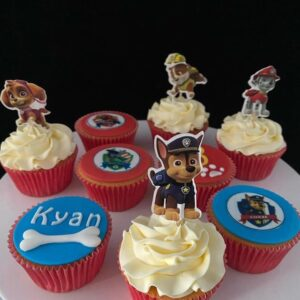 PawPatrole cupcakes