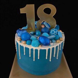 verjaardagstaart 18 jaar