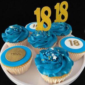 Cupcakes 18 jaar