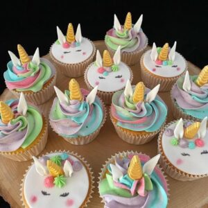 Eenhorn cupcakes