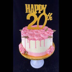 Verjaardagstaart 20