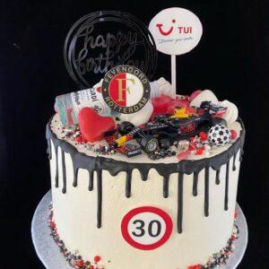 verjaardagstaart 30 jaar