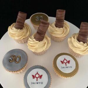 30e verjaardag cupcakes