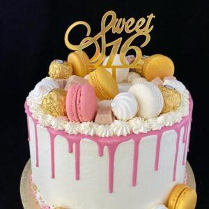 Sweetsixteentaart