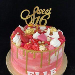 Sweet Sixteentaart