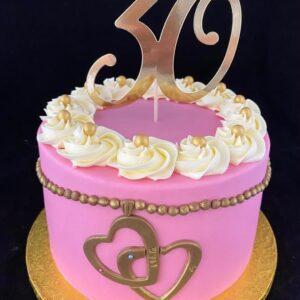 30e verjaardagtaart