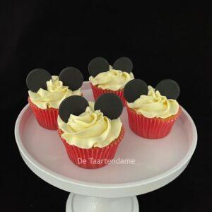 Cupcakes met oortjes