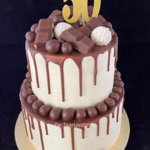 50e verjaardagstaart