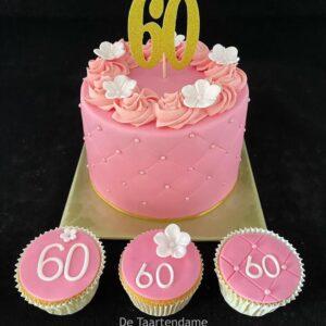 60e verjaardagstaart