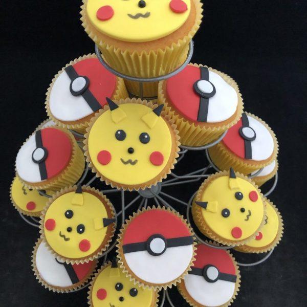 Pokemon cupcake