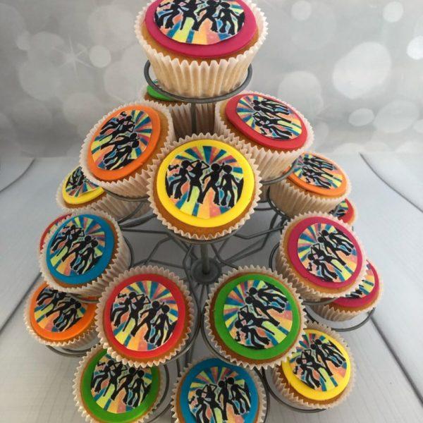Disco Cupcake 80